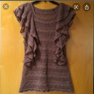 Anthropologie top by knited and knoted